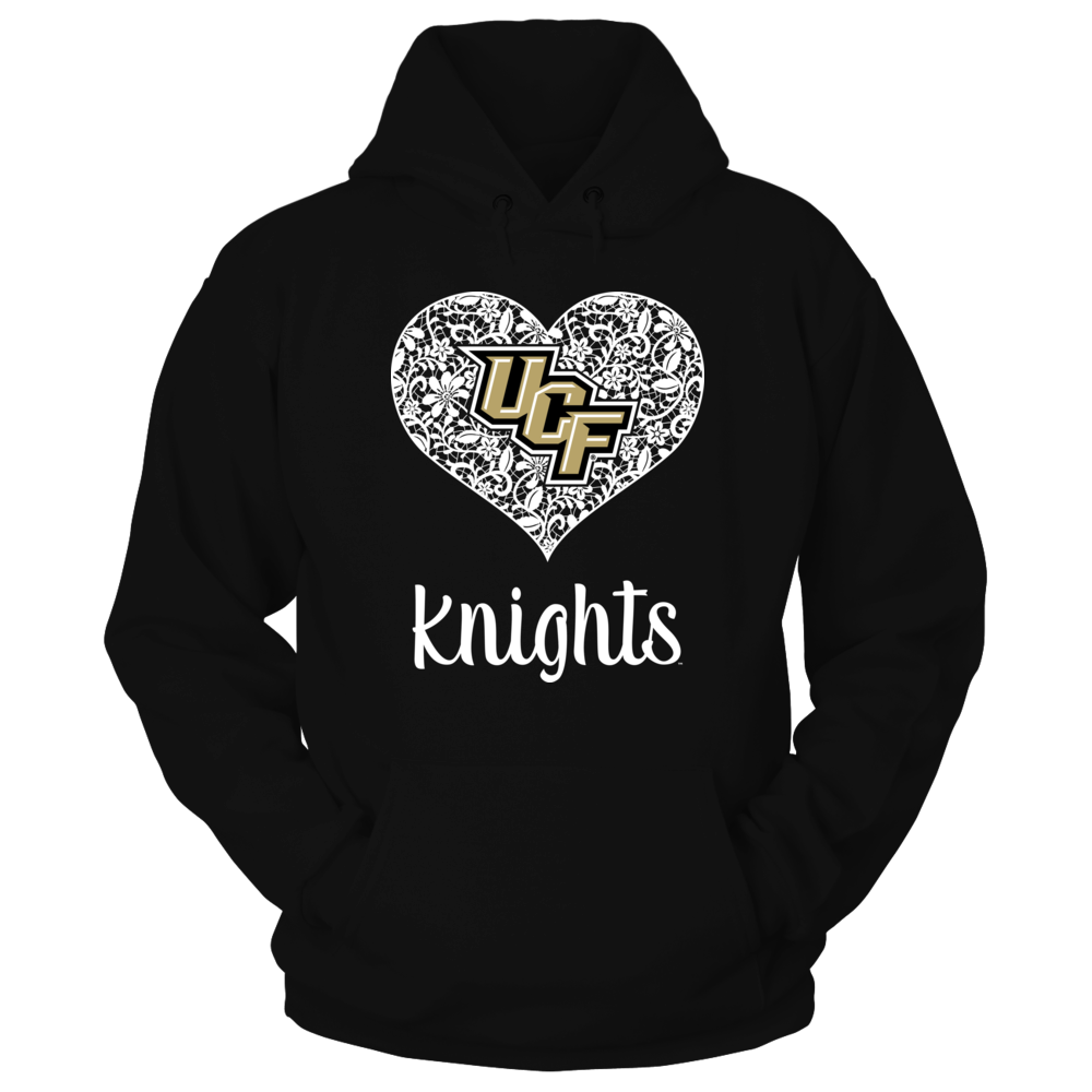 UCF Knights - Lace Heart with Logo Front picture