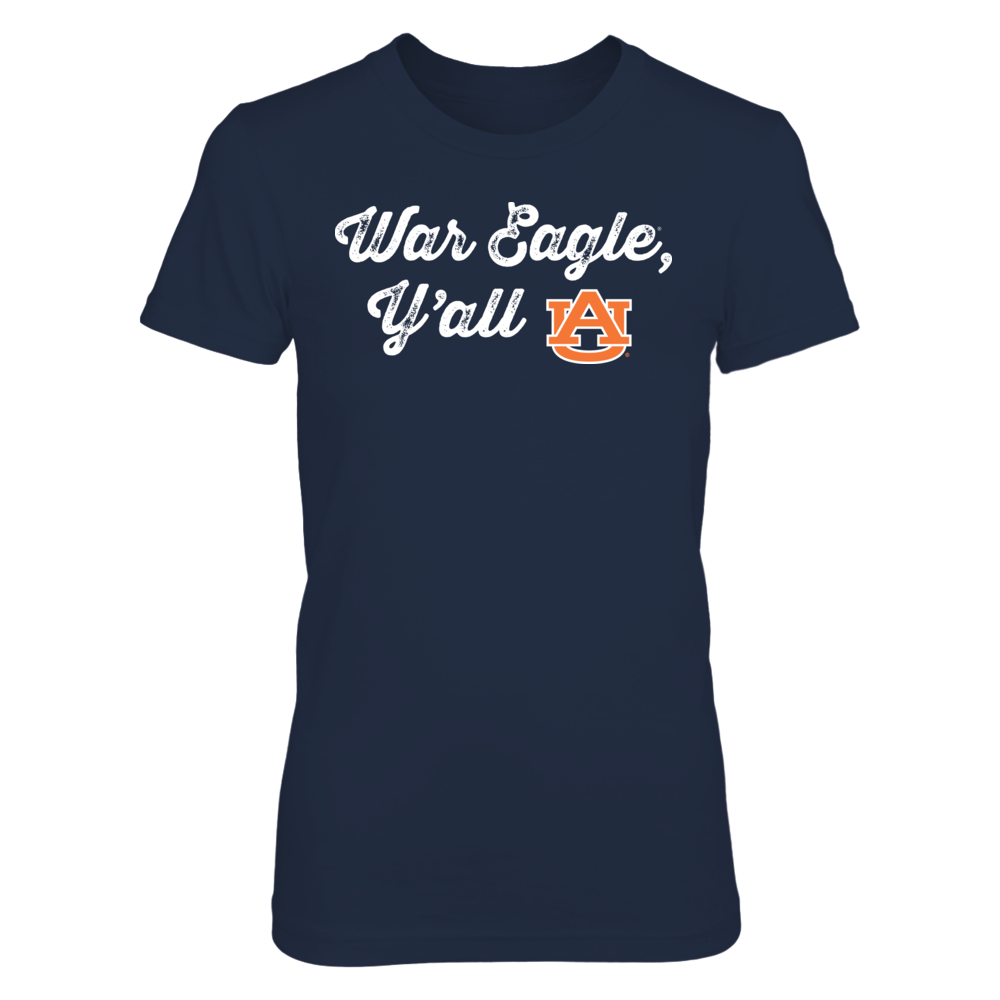 War Eagle Y'all - Officially Licensed Auburn Tigers T-Shirt / Hoodie / Tank Front picture