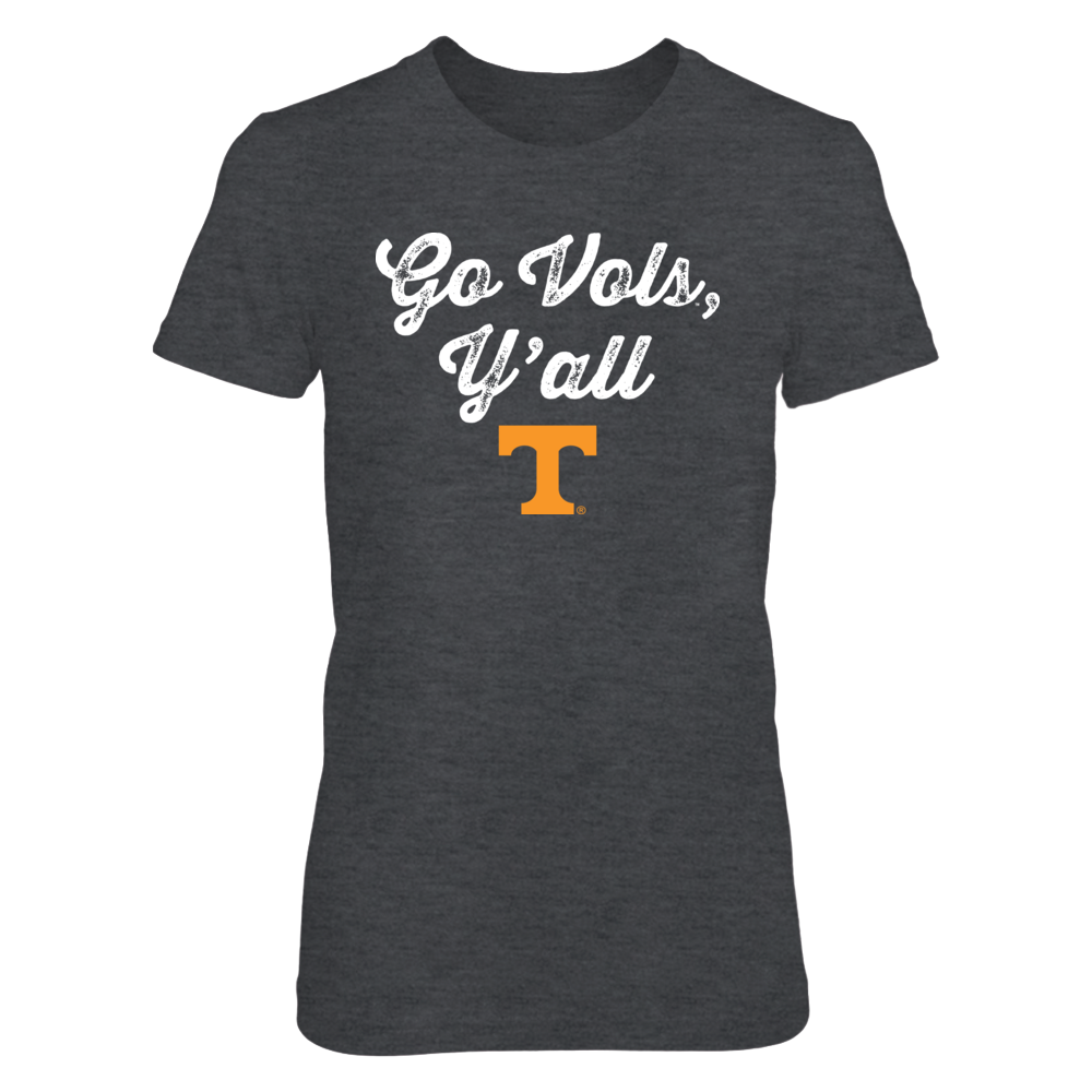 Go Vols Y'all - Officially Licensed University of Tennessee T-Shirt / Hoodie / Tank Front picture