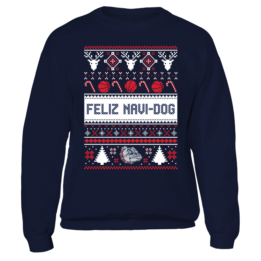 Gonzaga Bulldogs  - Ugly Christmas Sweater Front picture