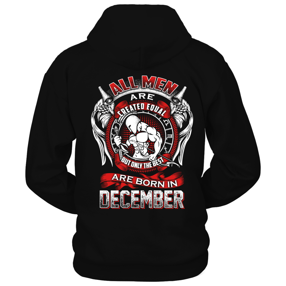 THE BEST ARE BORN IN DECEMBER Back picture