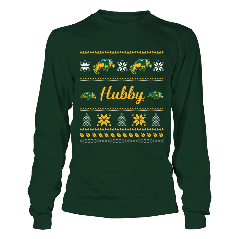 North Dakota State Bison - Hubby Ugly Sweaters Front picture