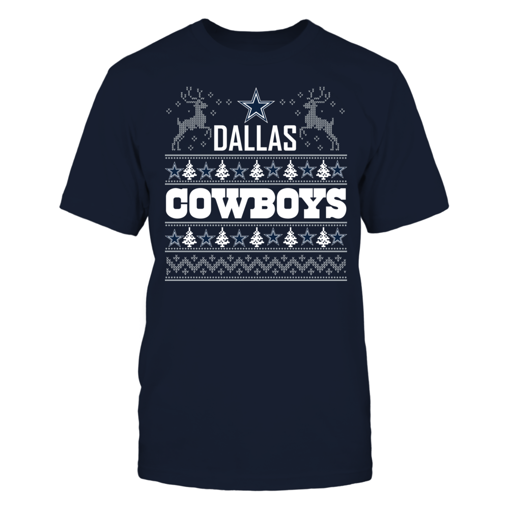 Dallas Cowboys Ugly Christmas Sweater Front picture
