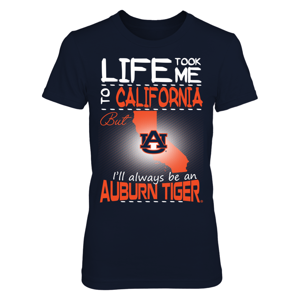 Auburn Tigers - Life Took Me To California Front picture