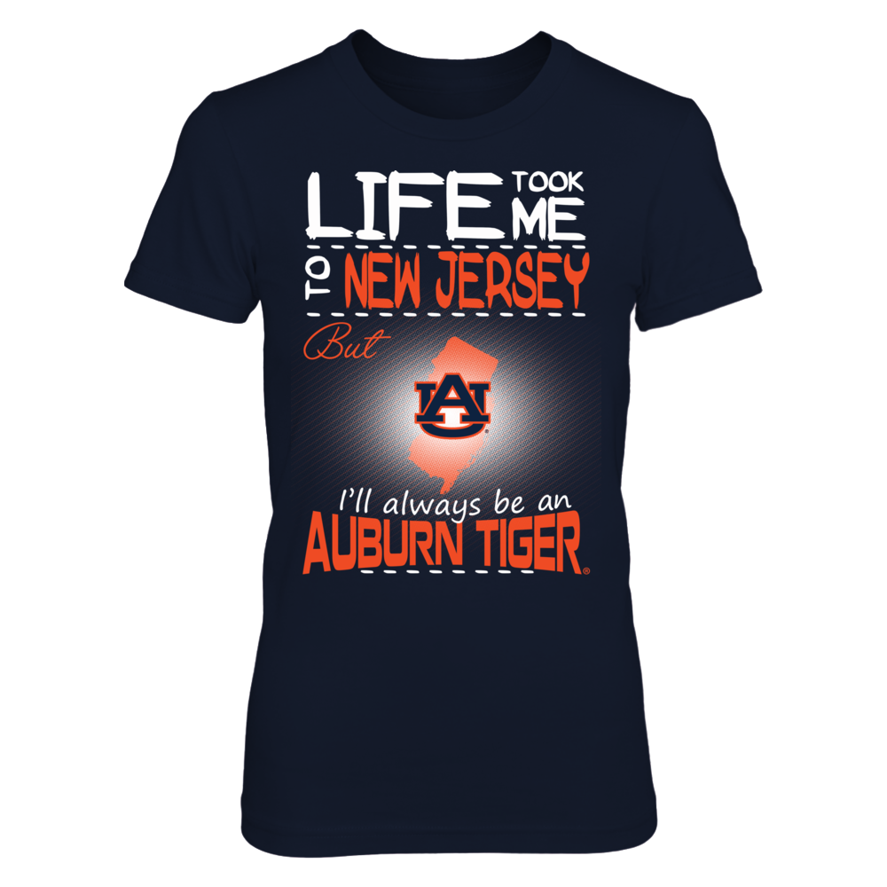 Auburn Tigers - Life Took Me To New Jersey Front picture