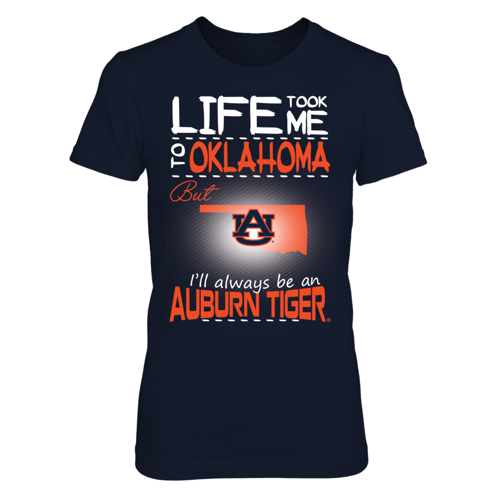 Auburn Tigers - Life Took Me To Oklahoma Front picture