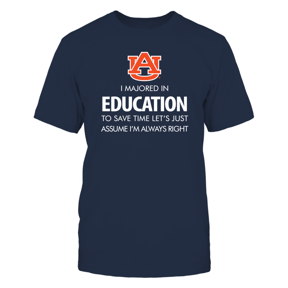 Education Major - Auburn Front picture