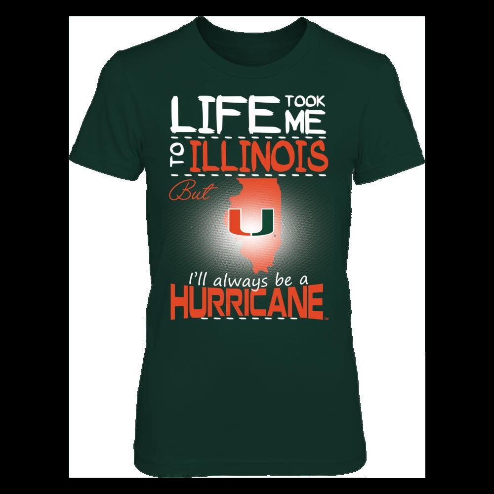 Miami Hurricanes - Life Took Me To Illinois Front picture