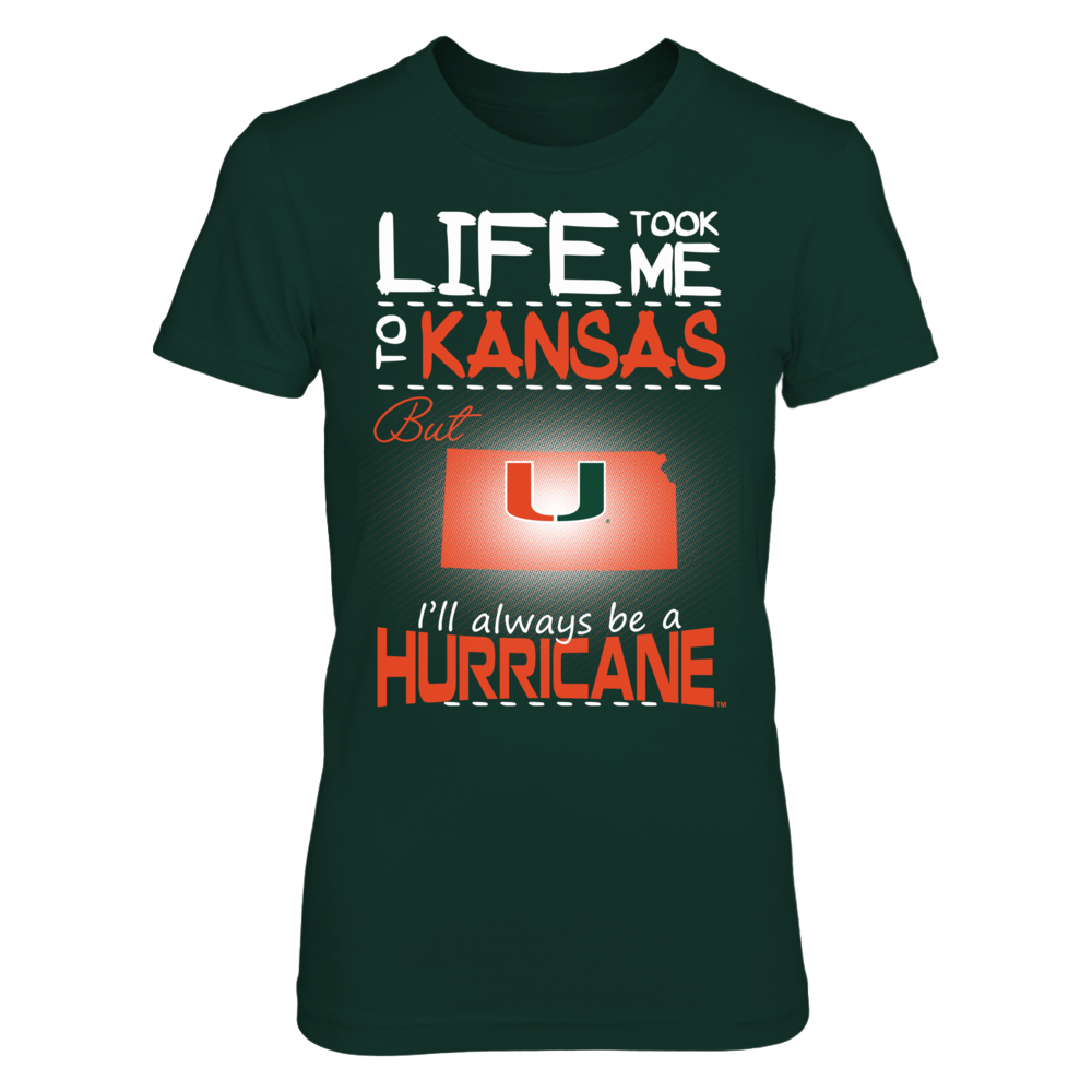 Miami Hurricanes - Life Took Me To Kansas Front picture
