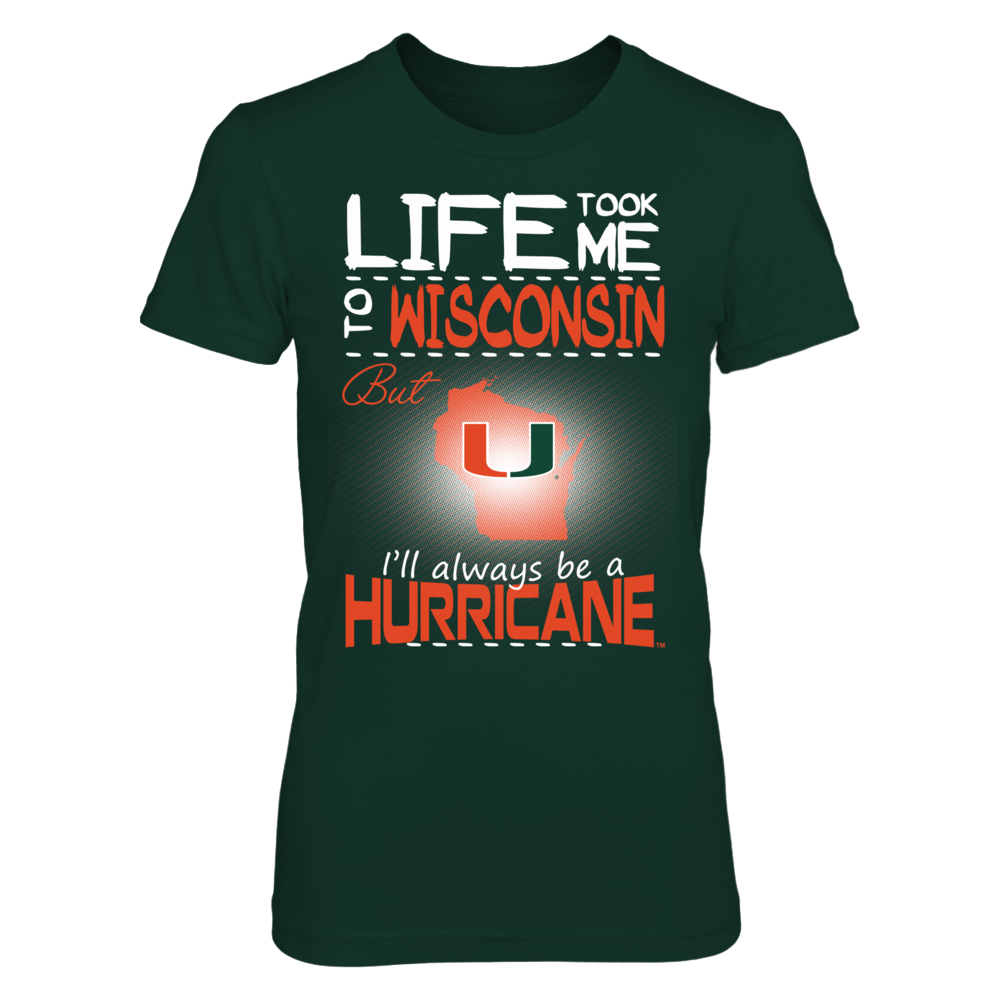 Miami Hurricanes - Life Took Me To Wisconsin Front picture