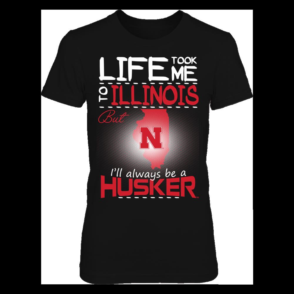 Nebraska Cornhuskers - Life Took Me To Illinois Front picture