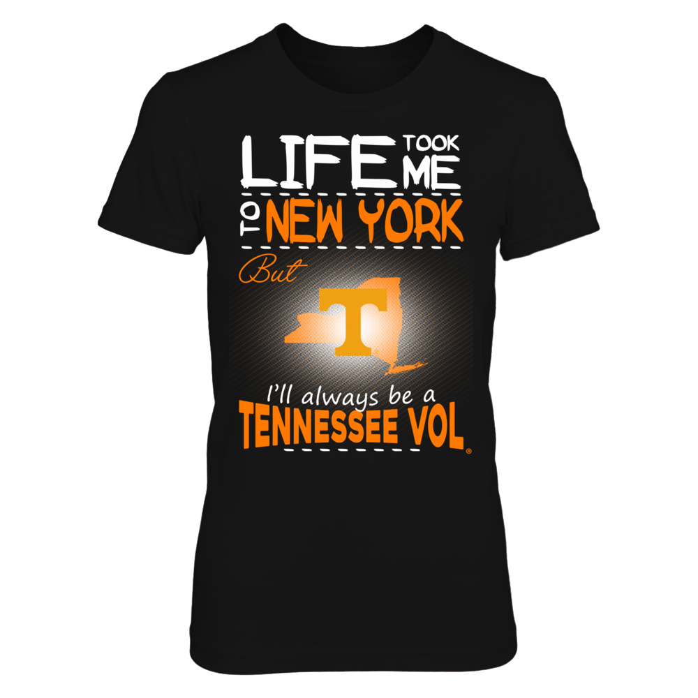 Tennessee Volunteers - Life Took Me To New York Front picture