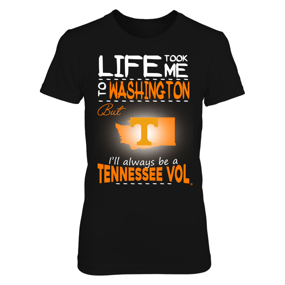 Tennessee Volunteers - Life Took Me To Washington Front picture
