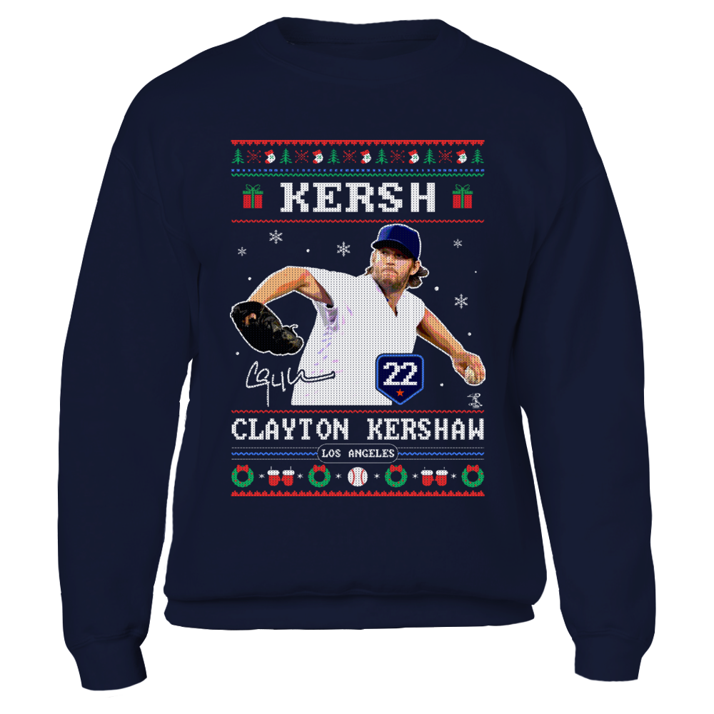 Clayton Kershaw - Kerch - CHRISTMAS PLAYER Front picture