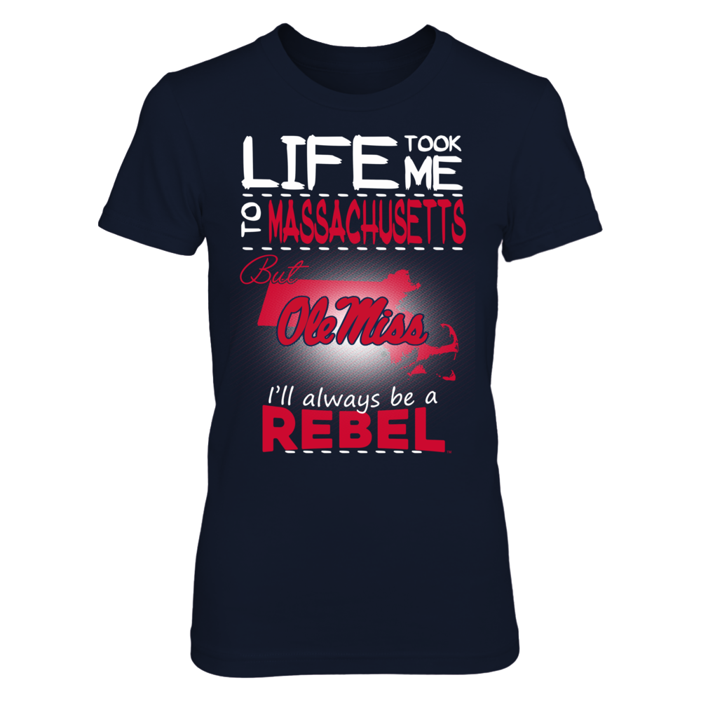 Ole Miss Rebels - Life Took Me To Massachusetts Front picture