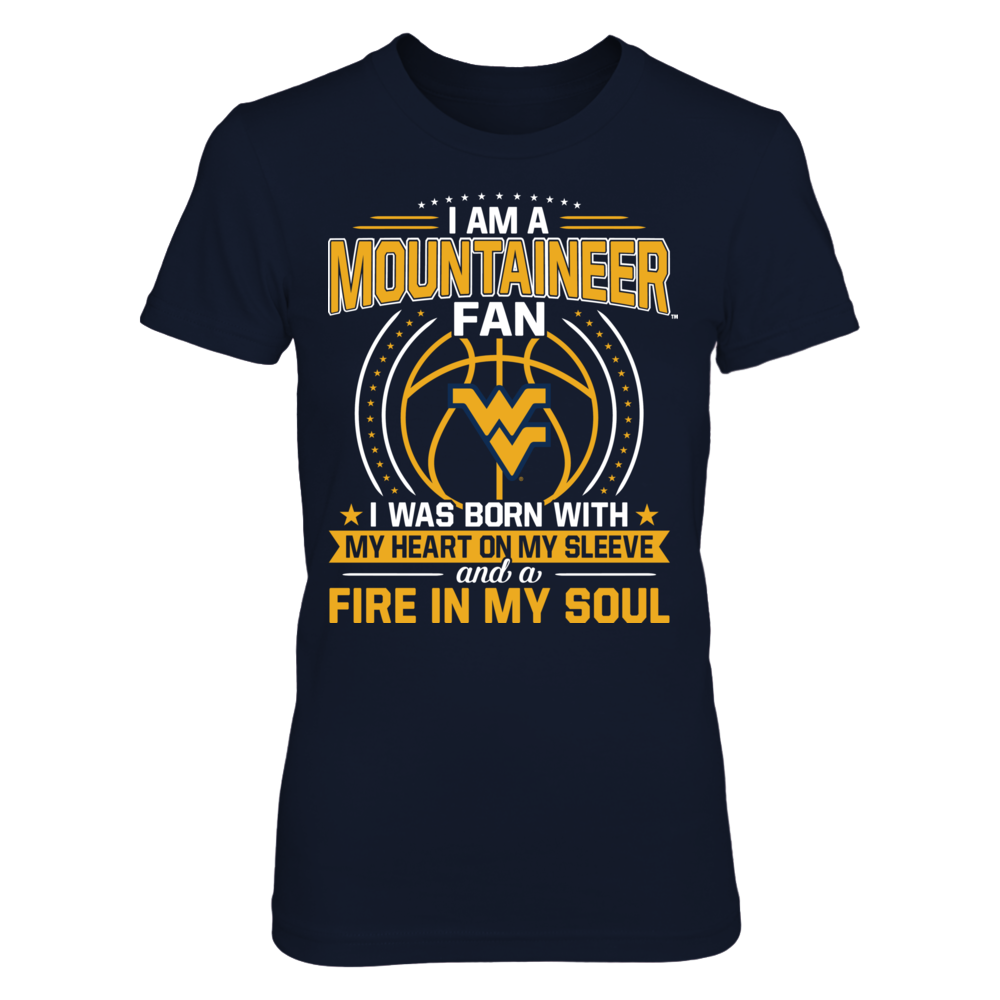 West Virginia Mountaineers - Heart On Sleeve Fire In Soul Front picture