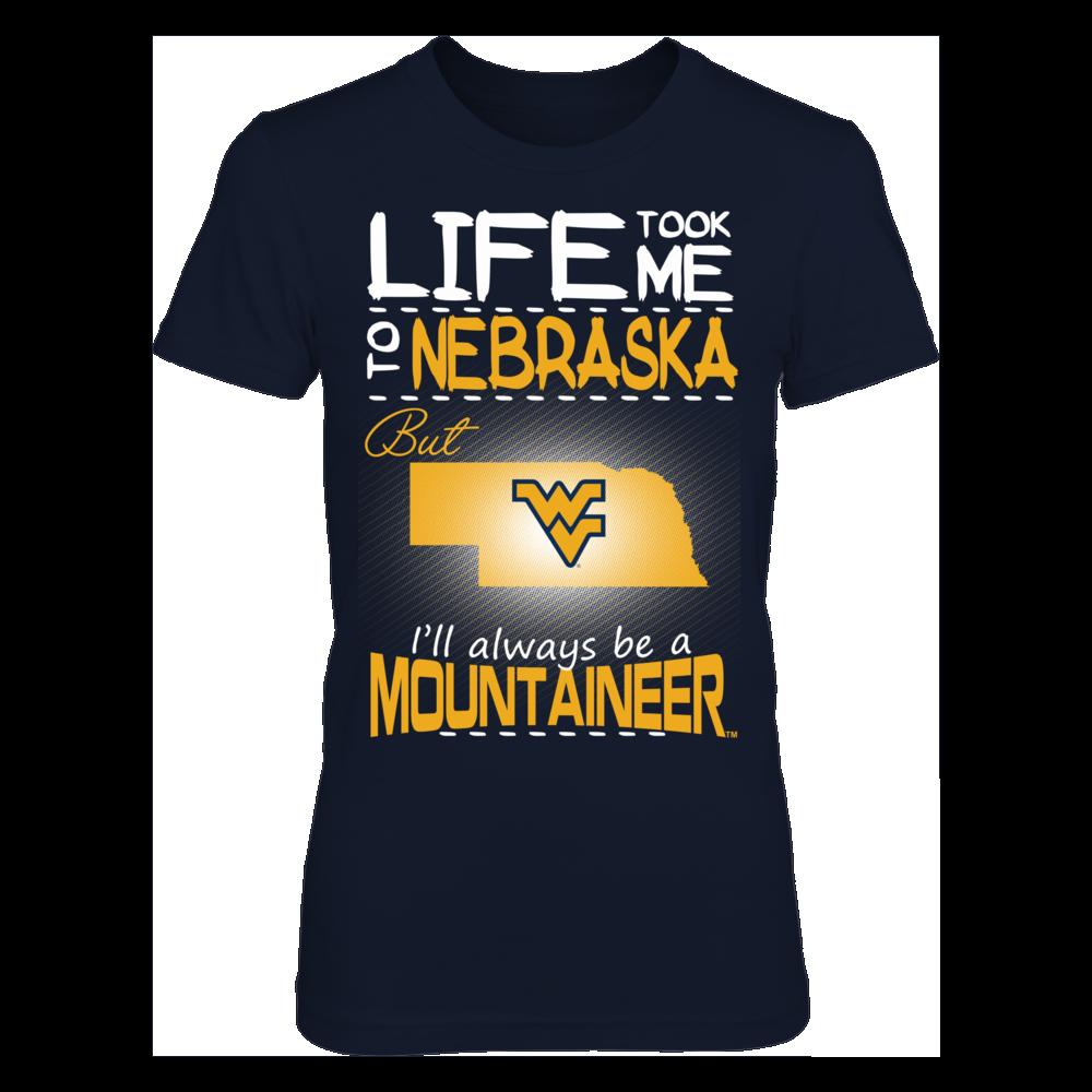 West Virginia Mountaineers - Life Took Me To Nebraska Front picture