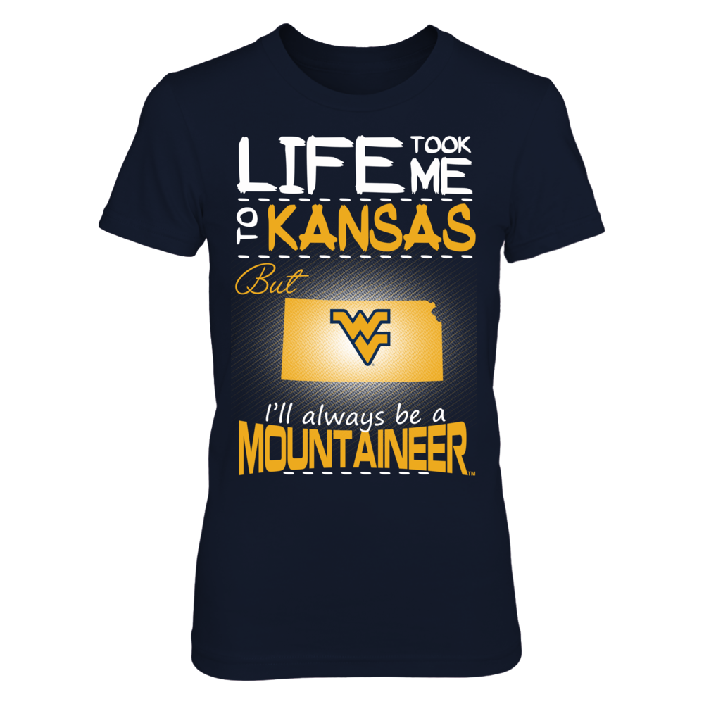 West Virginia Mountaineers - Life Took Me To Kansas Front picture