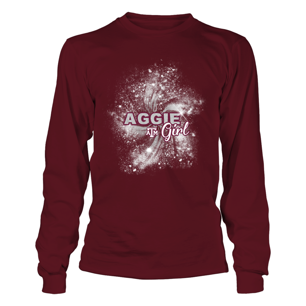 Texas A&M Aggies - Football Aggie Girl Front picture