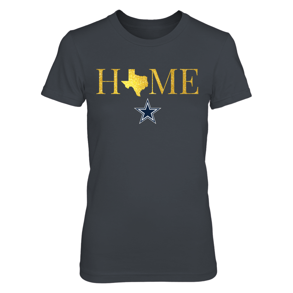 Texas Home In Shiny Gold - Dallas Cowboys Front picture