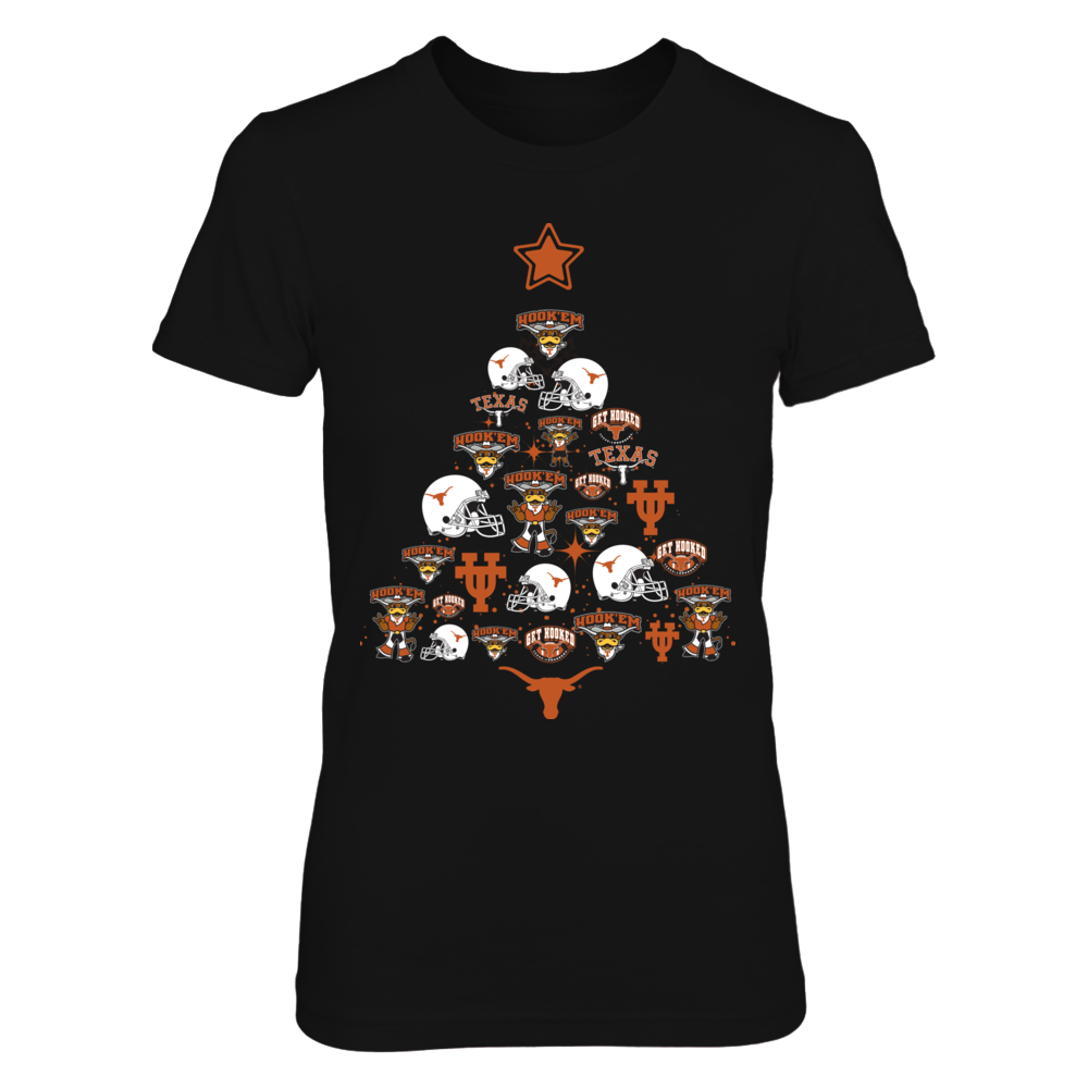 Texas Longhorns - Christmas Tree Front picture