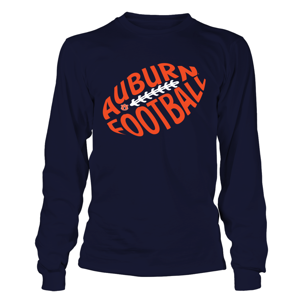 Auburn Tigers - Football Cloud Text Front picture