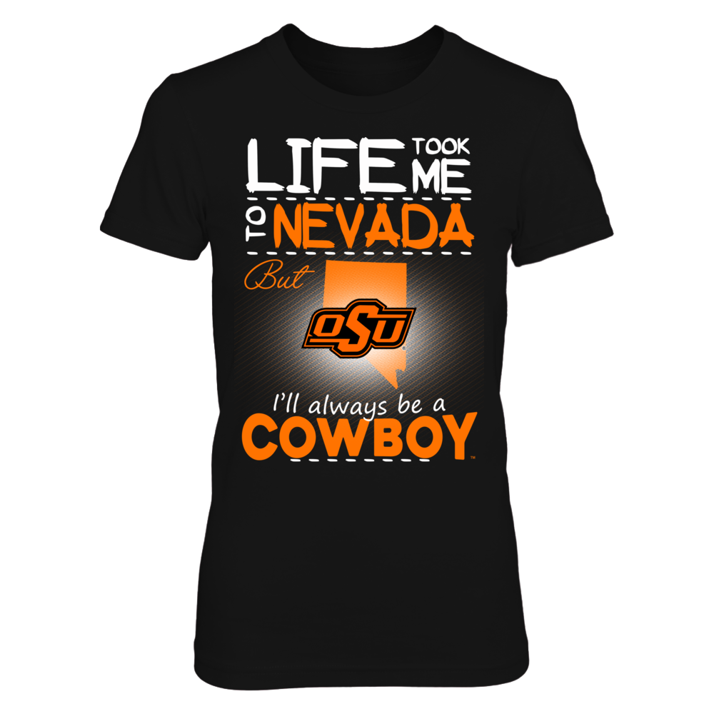 Oklahoma State Cowboys - Life Took Me To Nevada Front picture