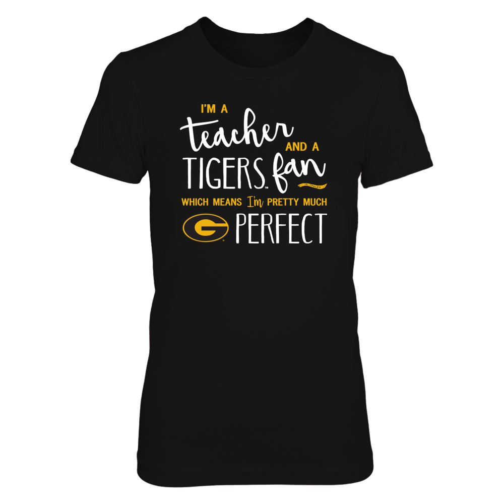 Perfect Teacher Grambling State Tigers Fan T-Shirt   Tank   Hoodie Front picture