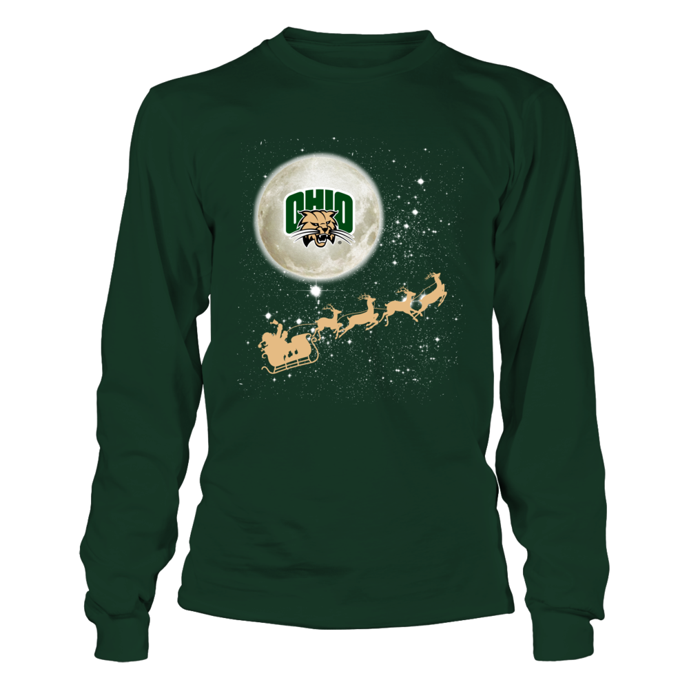 Ohio Bobcats - Football Sleigh Front picture