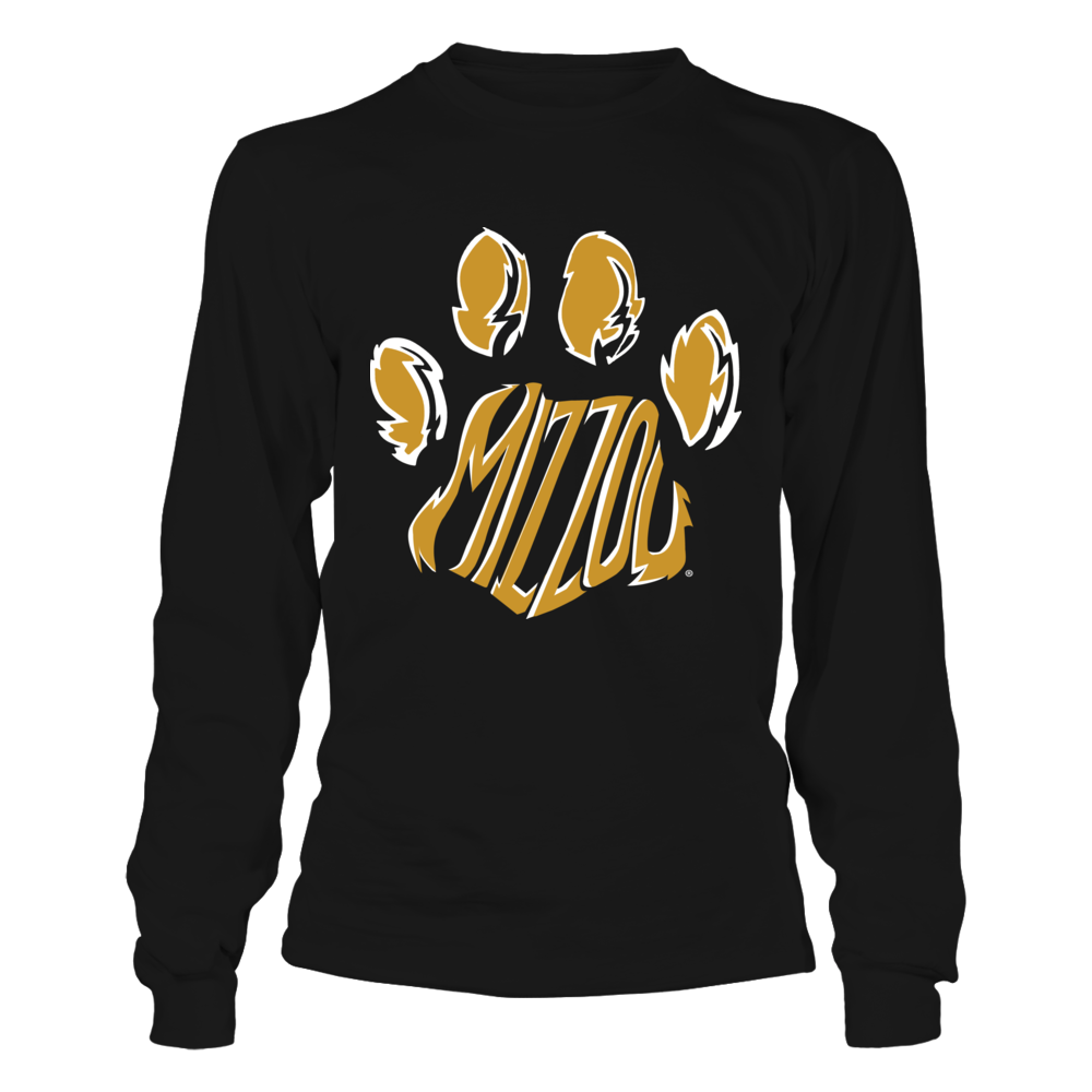 Mizzou Tigers - Tiger Paw Front picture