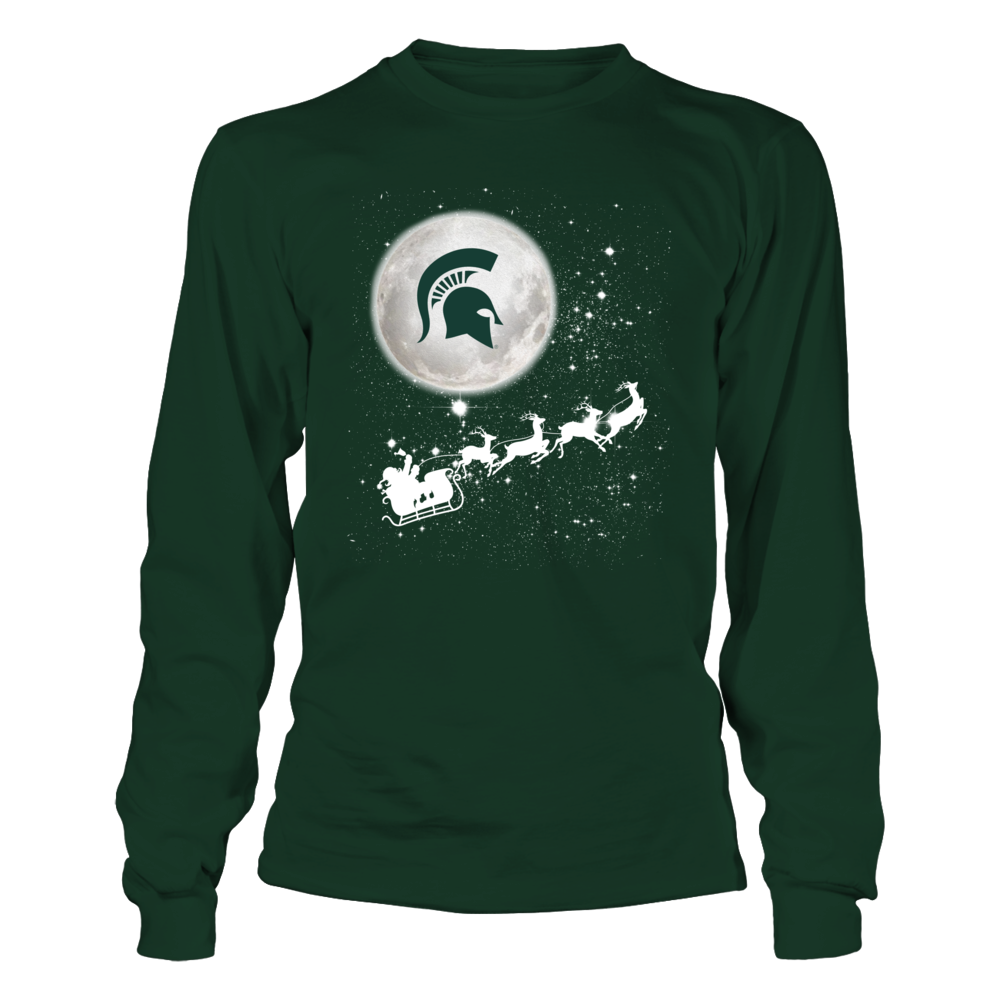 Michigan State Spartans - Football Sleigh  - IF - IC32-DS29 Front picture