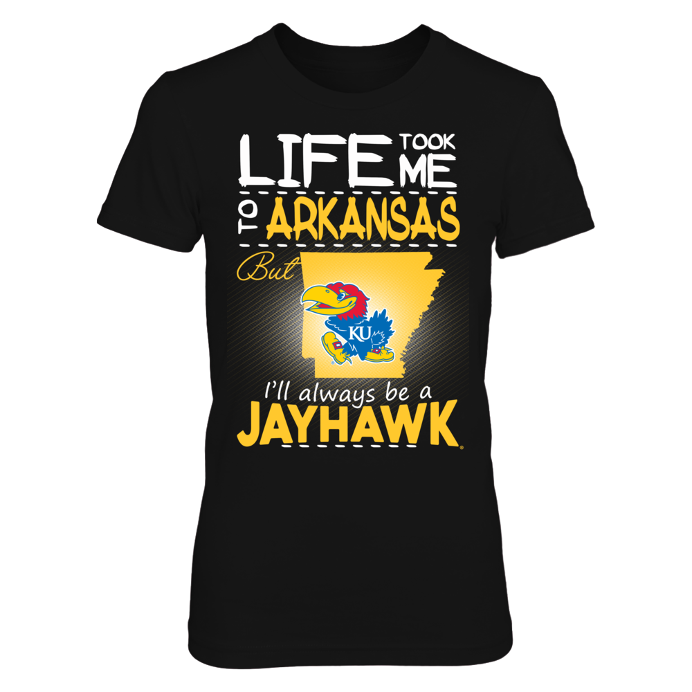 Kansas Jayhawks - Life Took Me To Arkansas Front picture