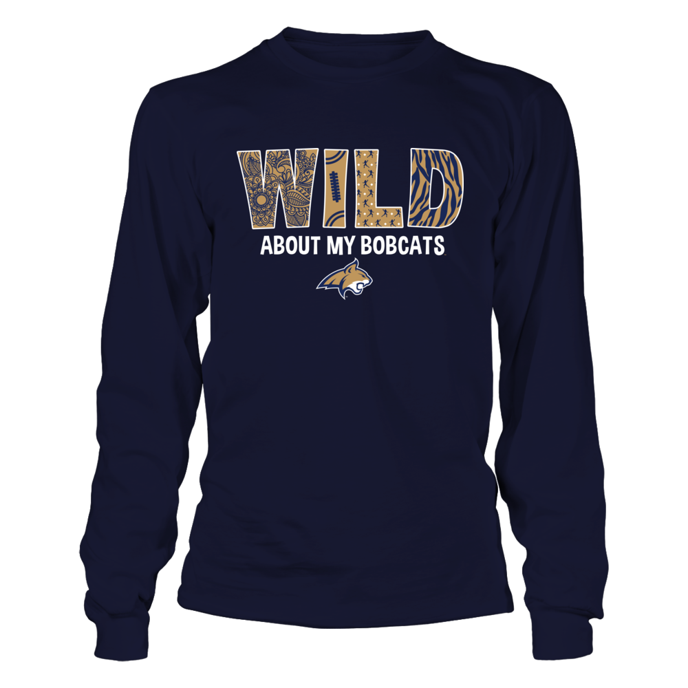 Montana State Bobcats - Wild About My Team Front picture