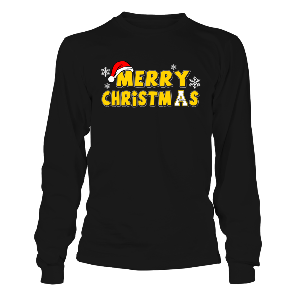 Appalachian State Mountaineers - Merry Christmas Front picture