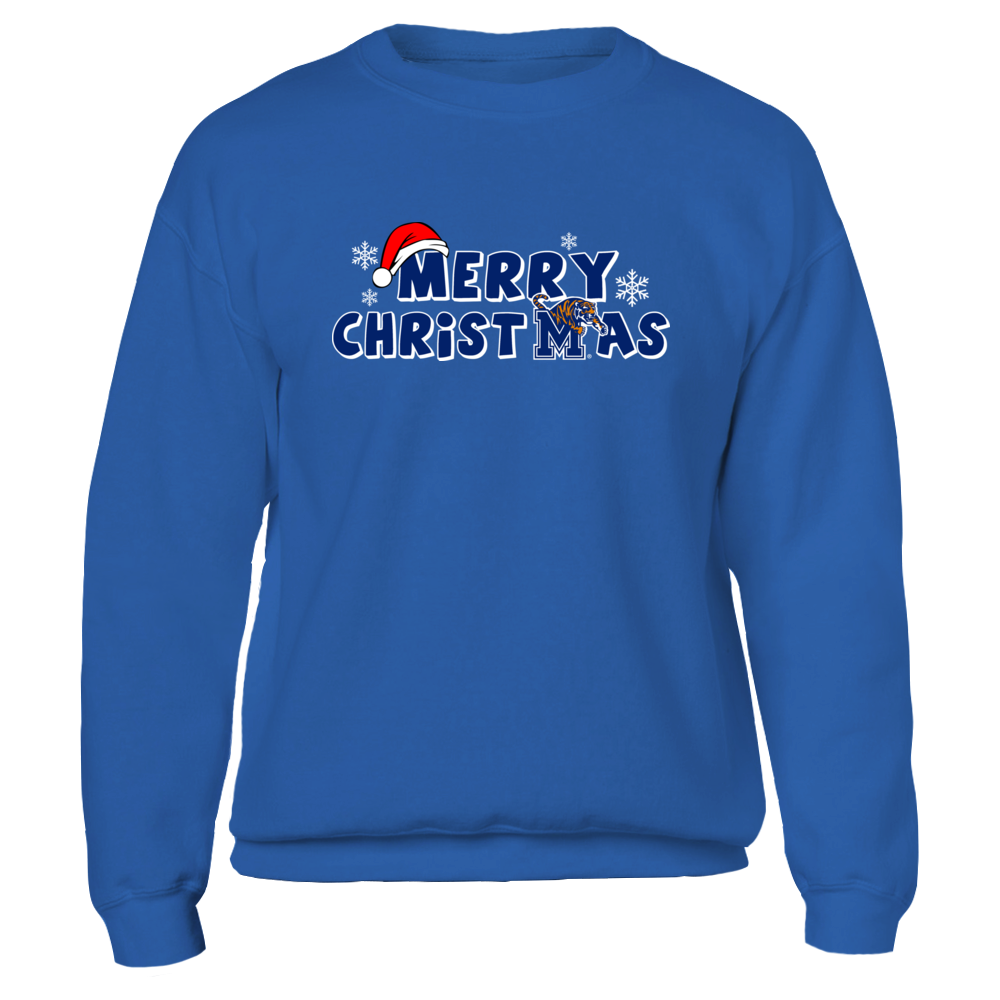 Memphis Tigers - Merry Christmas Logo Front picture