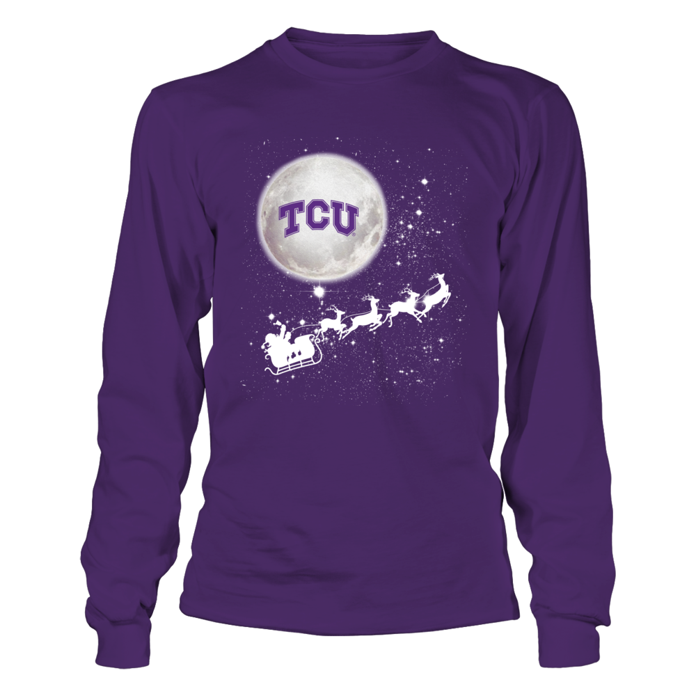 TCU Horned Frogs - Football Sleigh Front picture