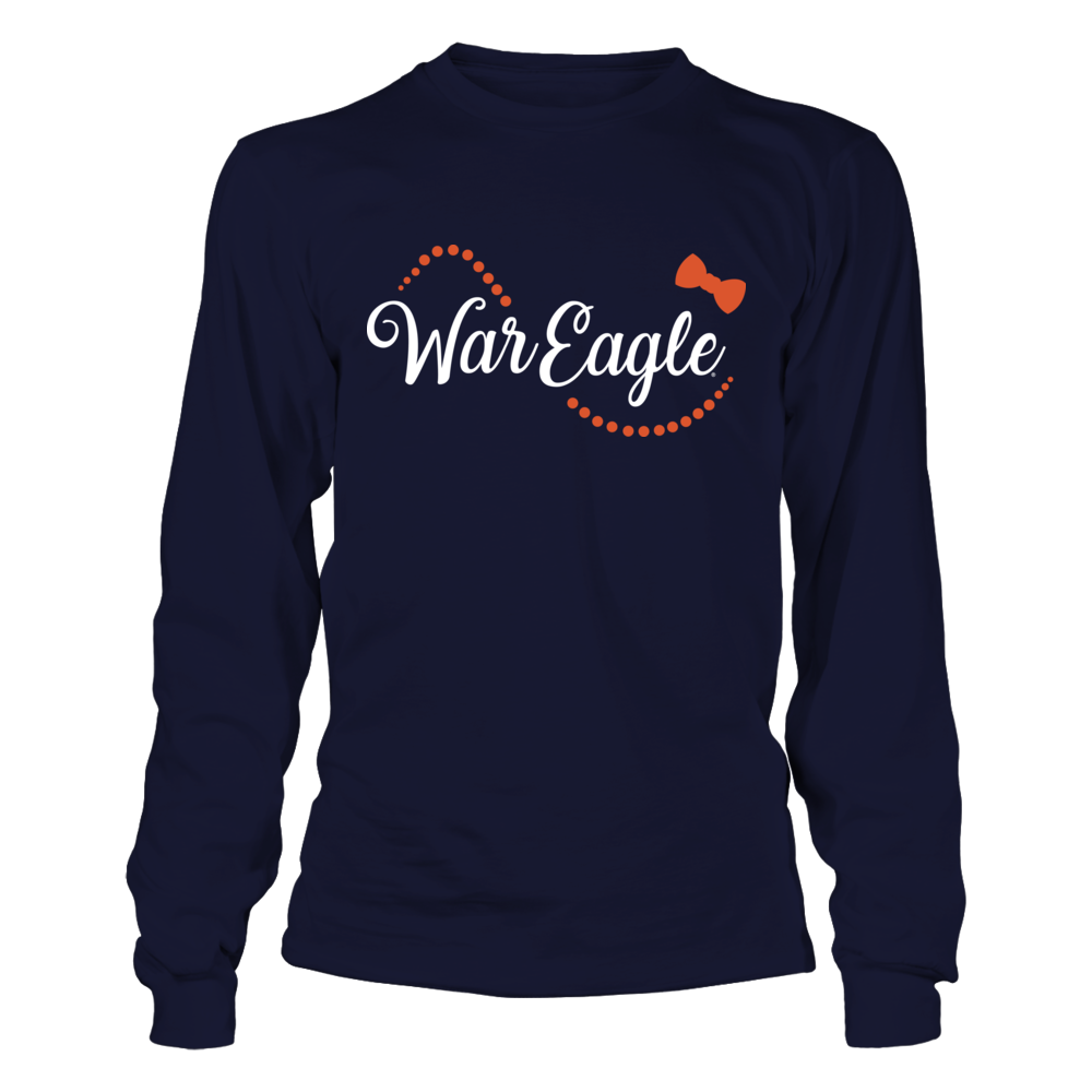 Auburn Tigers - Bow and Pearl - War Eagle Front picture