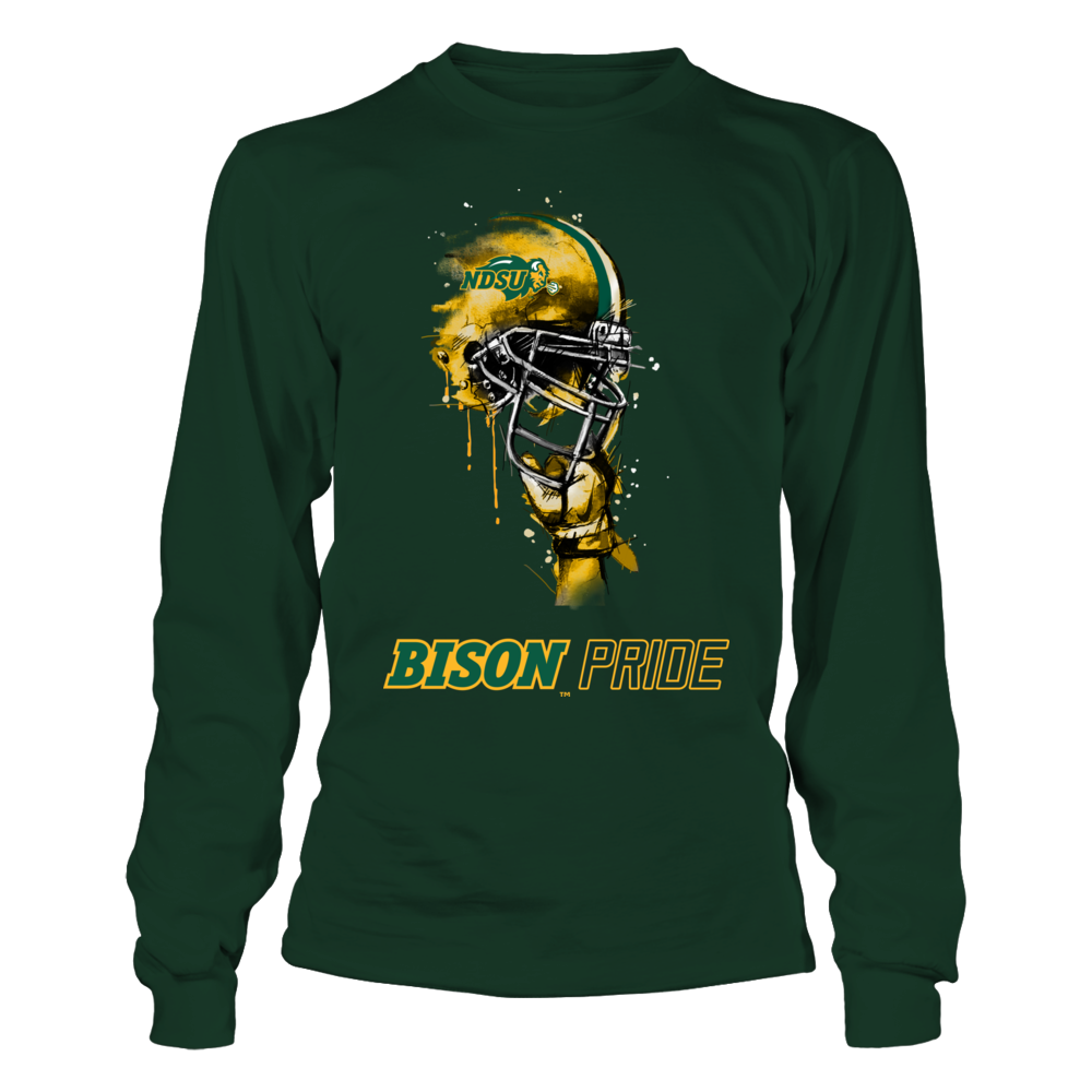 North Dakota State Bison - Rising Helmet - IF-IC78-DS27 Front picture