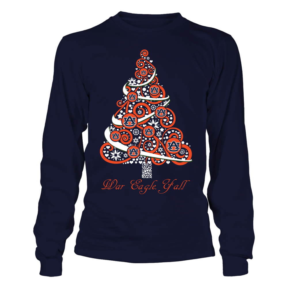 Auburn Tigers - Logo Christmas Tree - IF-IC17-DS45 Front picture