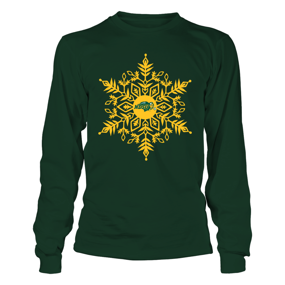 North Dakota State Bison - Snowflake Logo Front picture