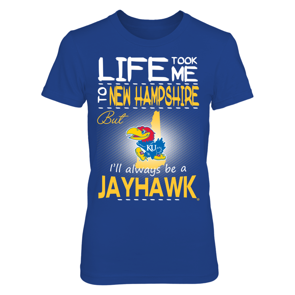 Kansas Jayhawks - Life Took Me To New Hampshire Front picture