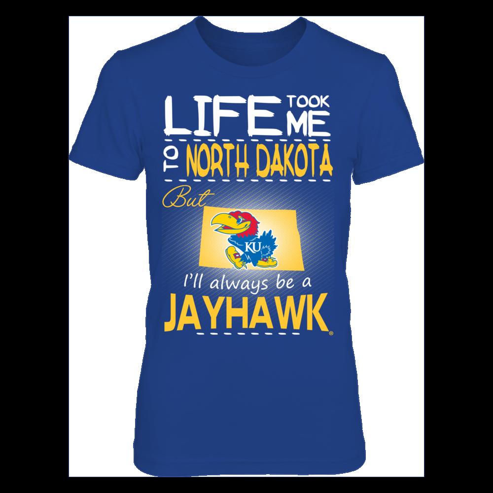 Kansas Jayhawks - Life Took Me To North Dakota Front picture