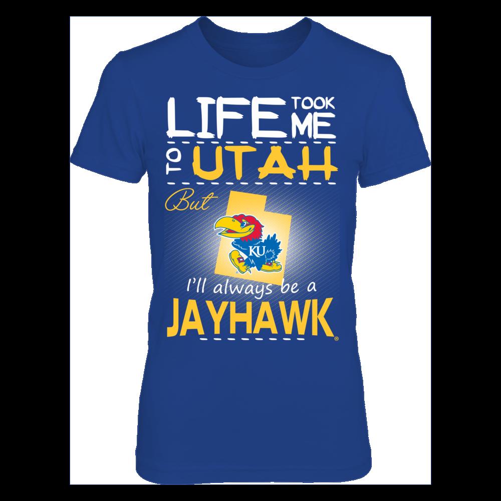 Kansas Jayhawks - Life Took Me To Utah Front picture