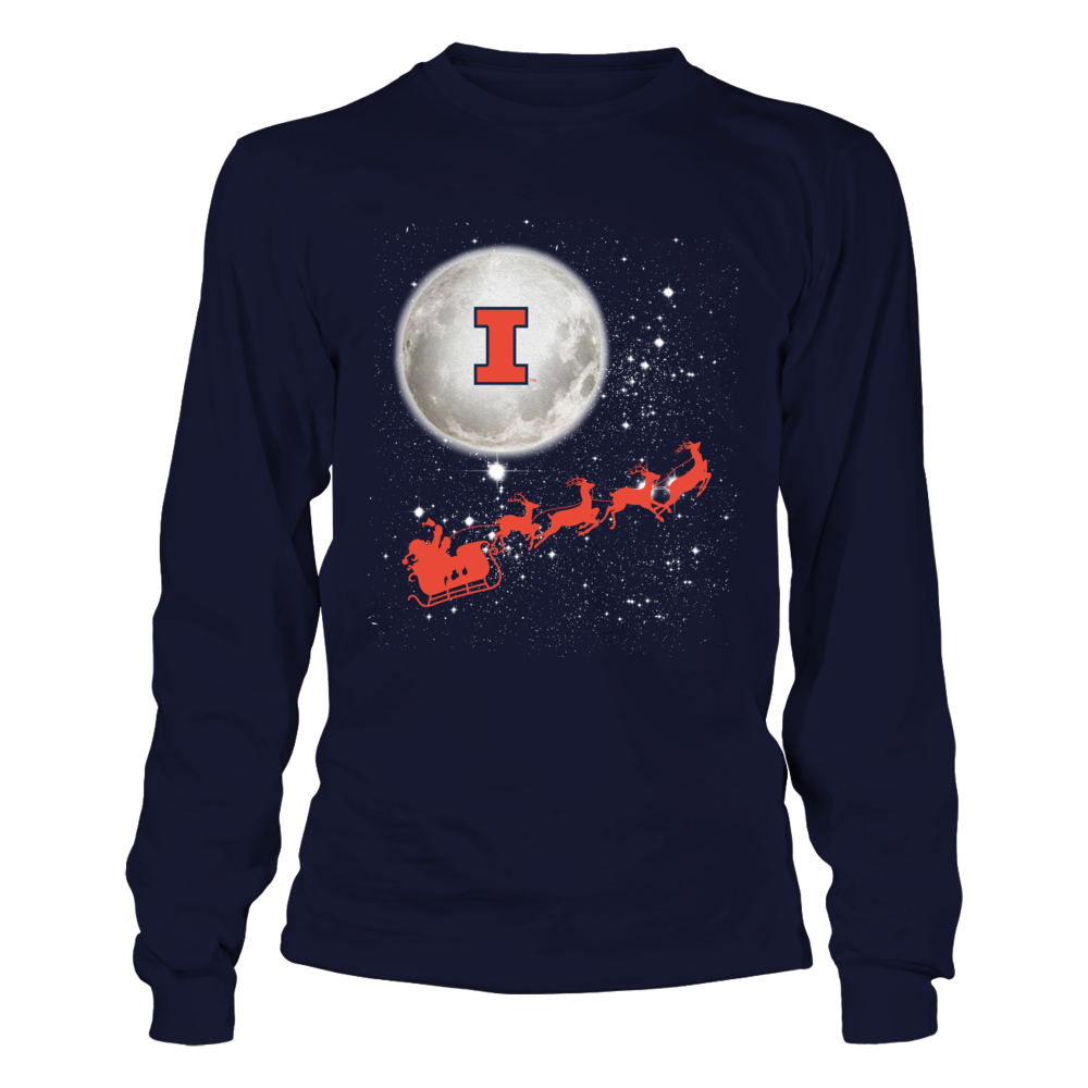Illinois Fighting Illini - Football Sleigh  - IF-IC32-DS38 Front picture