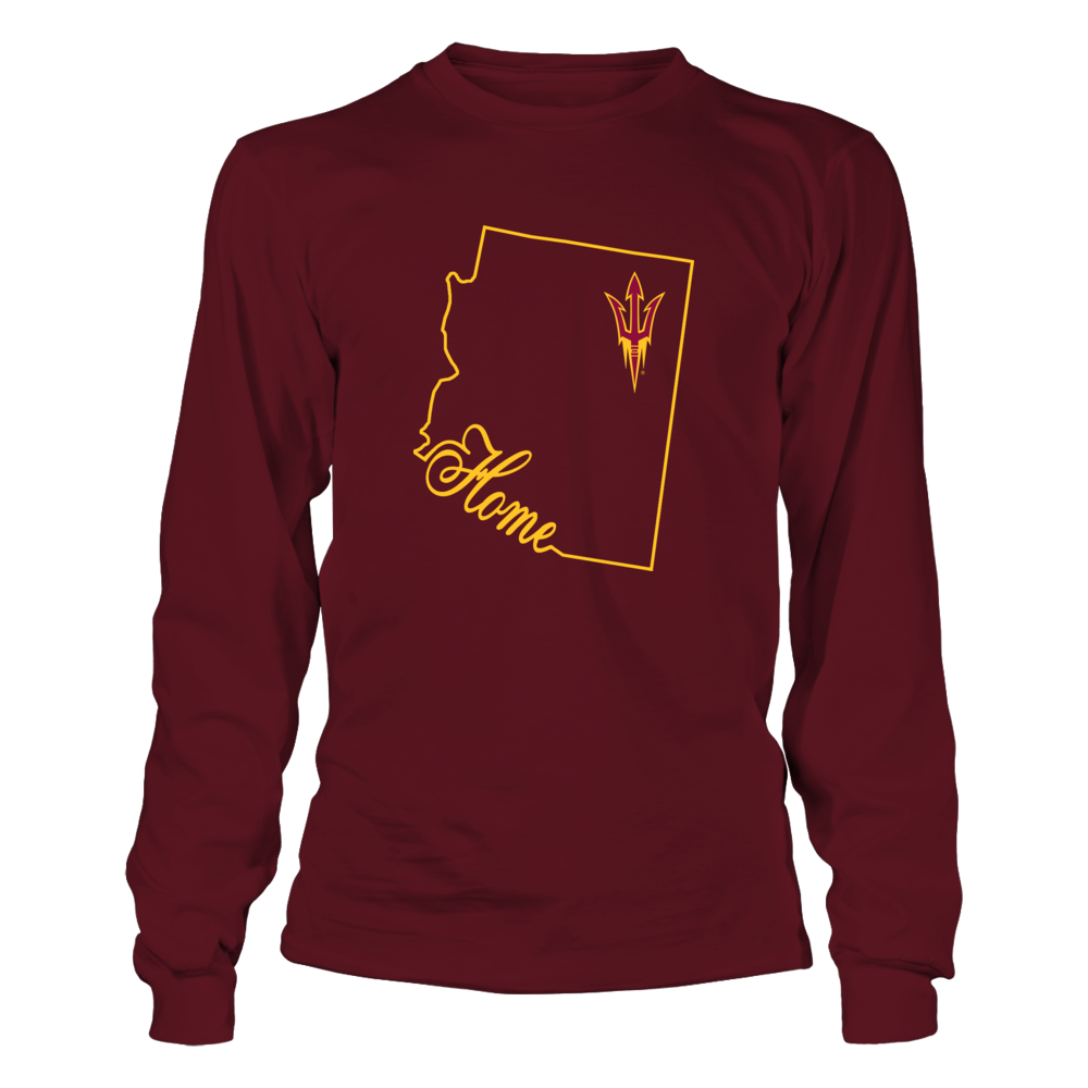 Arizona State Sun Devils - Home In State Outline Front picture