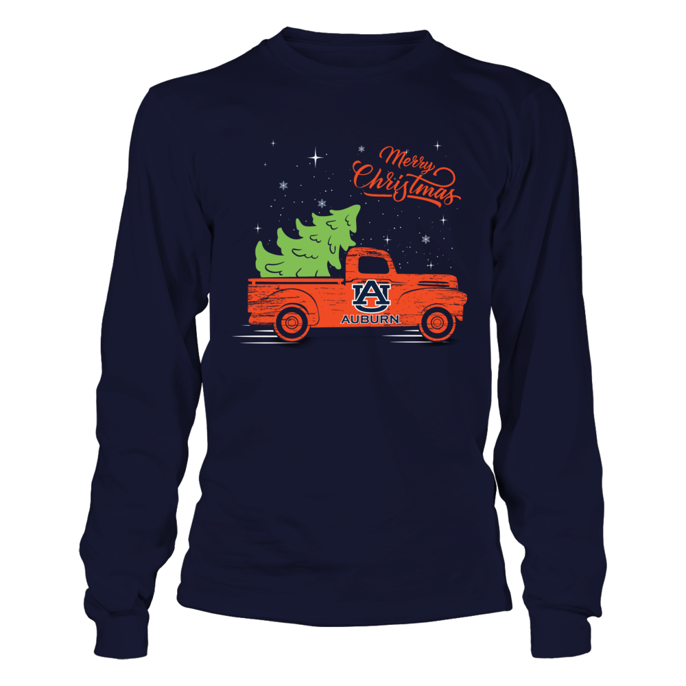 Auburn Tigers - Christmas Truck  - IF-IC32-DS85 Front picture