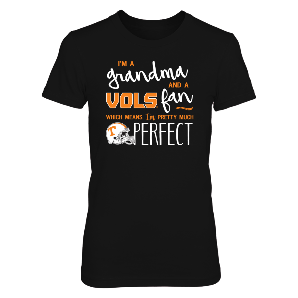 Perfect Grandma Tennessee Volunteers Fan T-Shirt | Tank | Hoodie Front picture