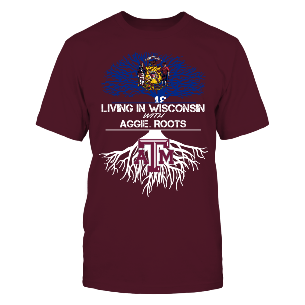 Texas A&M Aggies - Living Roots Wisconsin Front picture