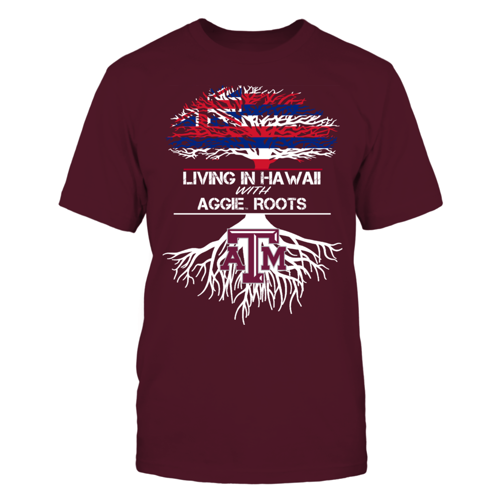 Texas A&M Aggies - Living Roots Hawaii Front picture