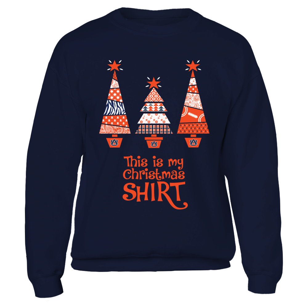 Auburn Tigers - My Christmas Shirt Front picture